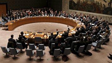 Голосование в Совбезе ООН по резолюции по Сирии