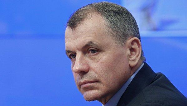 Председатель Государственного Совета Республики Крым Владимир Константинов. Архивное фото