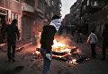 Столкновения протестующих с полицией в Стамбуле