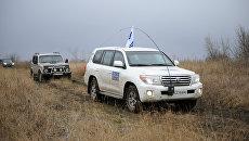 Миссия ОБСЕв Донбассе. Архивное фото