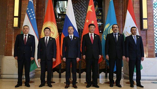 Встреча глав правительств государств - членов Шанхайской организации сотрудничества. Архивное фото