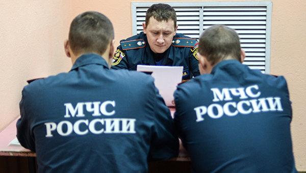 Работа МЧС в Новгородской области. Архивное фото