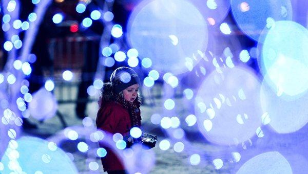 Открытие фестиваля Ледовая Москва. В кругу семьи в парке Победы на Поклонной горе. Архивное фото
