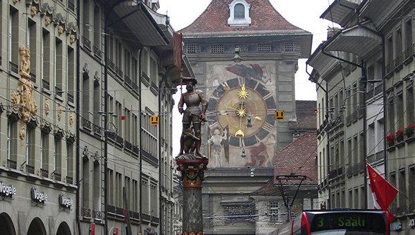 Часовая башня в Берне. Архивное фото