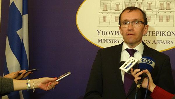 Специальный советник генерального секретаря ООН по Кипру Эспен Барт Эйде
