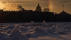 Санкт-Петербург зимой. Архивное фото
