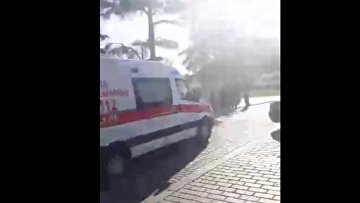 Первые кадры из района взрыва в Стамбуле. ВИДЕО