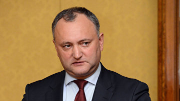 Глава партии социалистов Молдавии Игорь Додон. Архивное фото