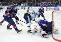 """Хоккей. КХЛ. Матч СКА - """"Сибирь"""""""
