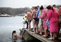 Крещенские купания в Донецкой области