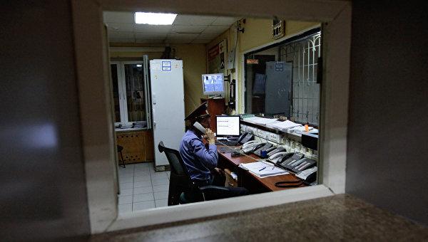 Дежурная часть отдела внутренних дел. Архивное фото