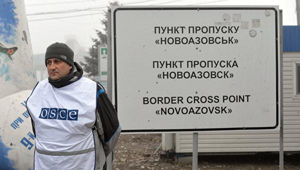 КПП Новоазовск. Архивное фото