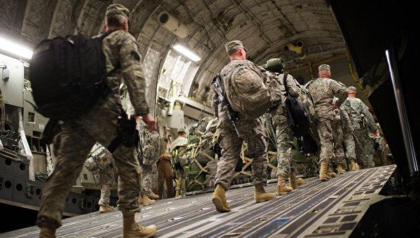 Солдаты армии США . Архивное фото
