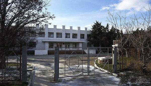 Коктебельская общеобразовательная школа №1 . Архивное фото