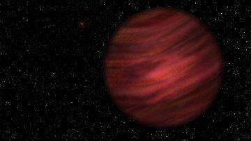 Так художник представил себе планету 2MASS J2126