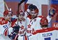Хоккей. КХЛ. Матч СКА - ЦСКА