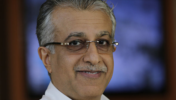 Претендент на пост главы FIFA Шейх Салман бин Ибрагим Аль Халифа