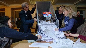 Подчет голосов на выборах в ДНР, 2 ноября 2014