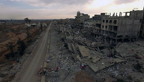 Началась эвакуация мирных граждан изгорода Дарейя вСирии