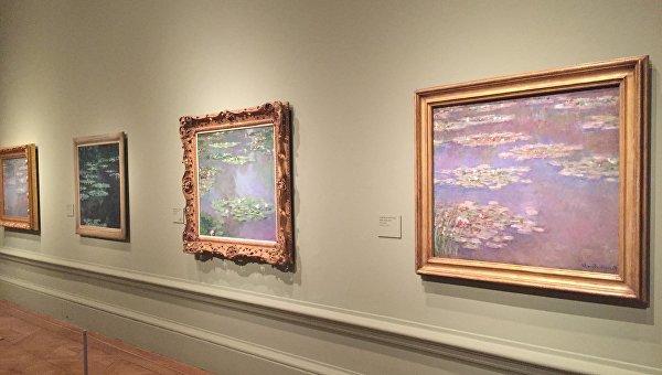 Выставка, посвященная изображению садов в живописи второй половины XIX – начала XX века