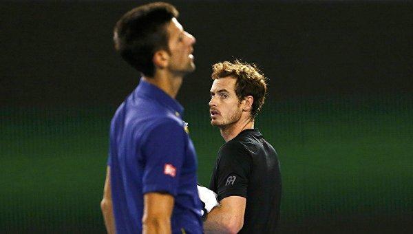 Новак Джокович победил Энди Маррея в финале Открытого чемпионата Австралии по теннису, 31 января 2016