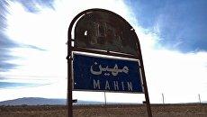 Сирийские ополченцы в христианской деревне Садад, провинция Хомс, Сирия