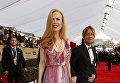 Австралийская и американская актриса Николь Кидман. 22-я церемония вручения премии Гильдии киноактёров США. Январь 2016