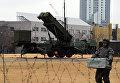 Зенитно-ракетный комплекс Patrio возле министерства обороны в Токио