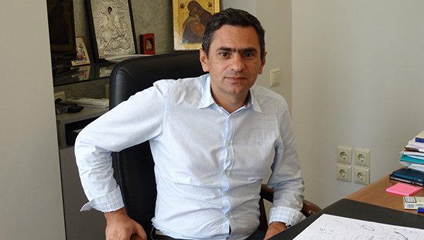 Вице-президент компании Ambotis Tours Service Георгий Акритидис