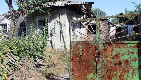 Дом в селе Веселое Ясиноватского района Донецкой области