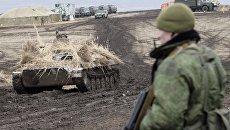 Тактические военные учения в ЛНР