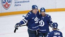 Игроки московского хоккейного клуба Динамо. Архивное фото