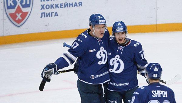 Хоккей. КХЛ. Матч Динамо (Москва) - Йокерит