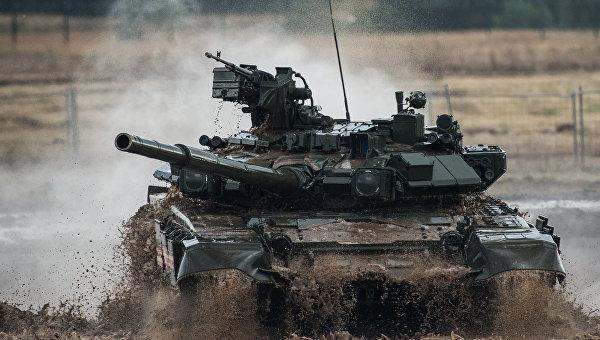 Русский Т-90 вошел впятерку сильнейших танков мира