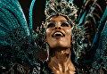 Участница карнавала в Рио-де-Жанейро, Бразилия