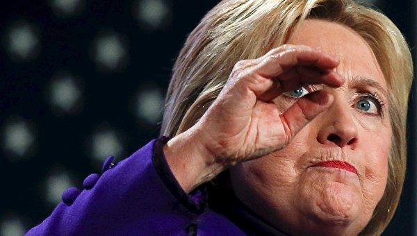 Кандидат в президенты от демократов Хиллари Клинтон