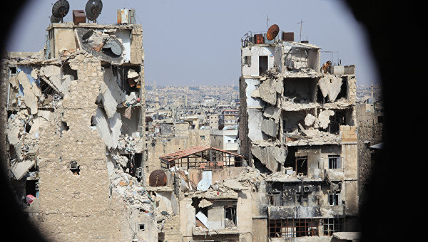 Вид на Алеппо. Архивное фото