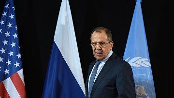 Глава МИД России Сергей Лавров в Мюнхене