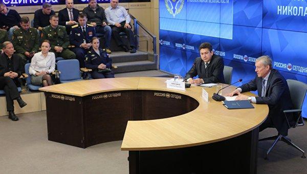 Пресс-конференция генерального секретаря ОДКБ Николая Бордюжи