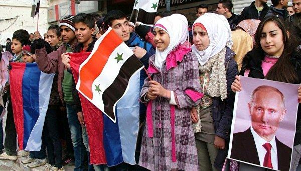 Российская гуманитарная помощь доставлена в город Кесаб в сирийской Латакии