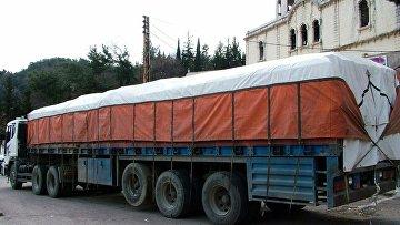 Российская гуманитарная помощь в Сирии. Архивное фото