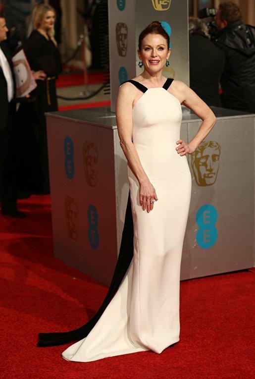 Актриса Джулианна Мур на церемонии вручения премий Британской академии кино и телевизионных искусств