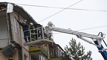 Взрыв бытового газа во Фрунзенском районе города Ярославля