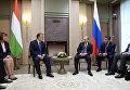 резидент России Владимир Путин и премьер-министр Венгрии Виктор Орбан во время встречи в подмосковной резиденции Ново-Огарево