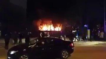 Видео с места взрыва в Анкаре