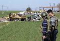 Место взрыва военного конвоя в турецкой провинции Диярбакыр, 17 февраля 2016 года