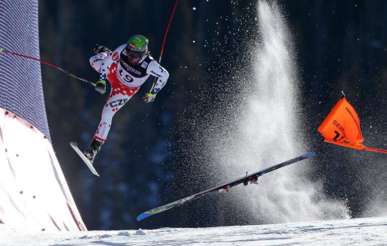Кубок мира FIS по лыжным гонкам. 8 февраля 2015. Кристиан Вальграм