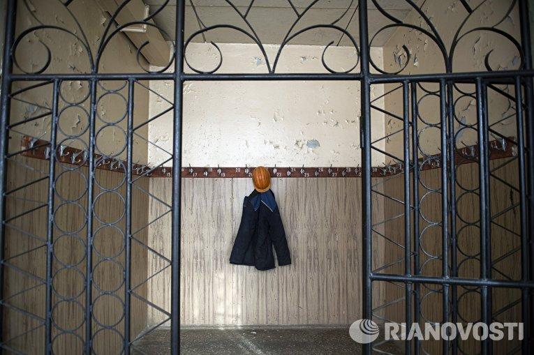 На шахте Северная Березовского золотоносного рудника в Свердловской области