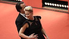 Актриса Трине Дюрхольм на торжественной церемонии закрытия 66-го Берлинского международного кинофестиваля Берлинале - 2016