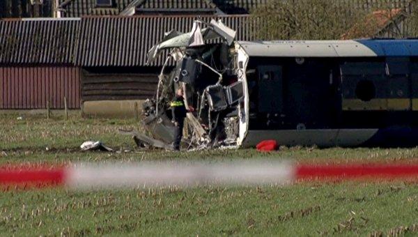 Авария пассажирского поезда в Нидерландах